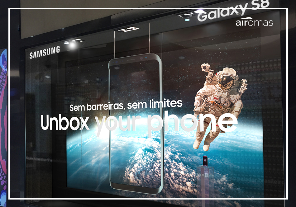 marketing olfativo samsung